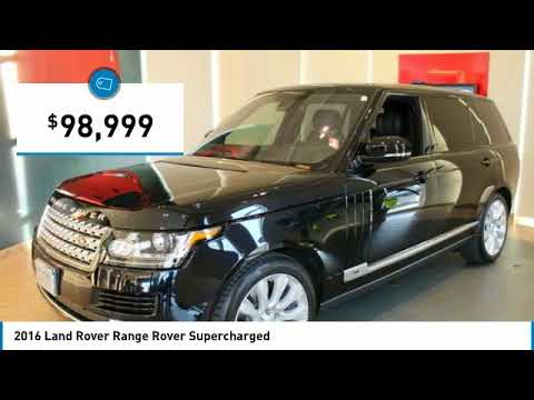 2016 Land Rover Range Rover Minneapolis, Golden Valley, St Paul, MN W6893