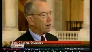 Grassley Predicts Heath Care Deal Will Be Reach - Bloomberg