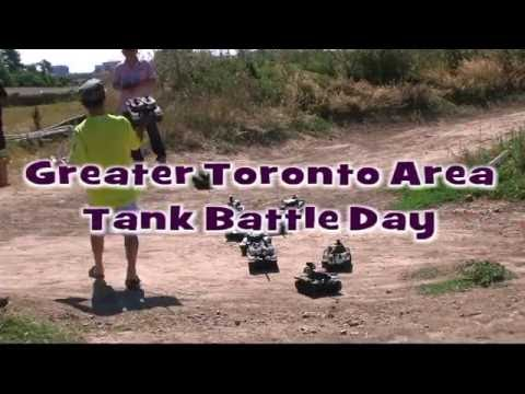 Greater Toronto Area First Tank Battle Day - July 23, 2016