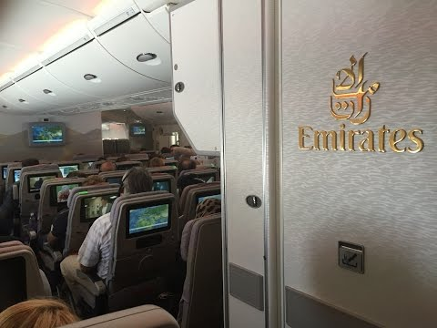 Emirates A380 Flight Report : EK055 Dubai to Dusseldorf Airbus A380 SamyTravels 1080p HD