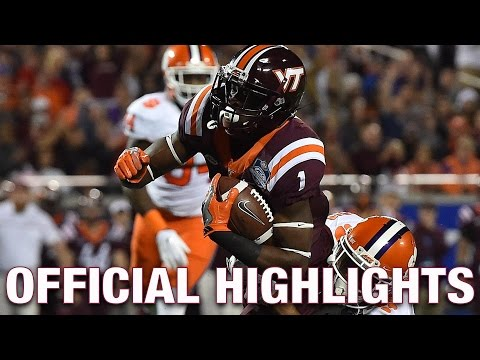Isaiah Ford Official Highlights | Virginia Tech Wide Receiver