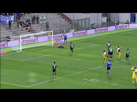 Sassuolo-Parma 0-1 Highlights 2013/14