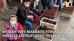 Wet markets in Wuhan struggle to survive despite lifting of China's lockdown to fight Covid-19