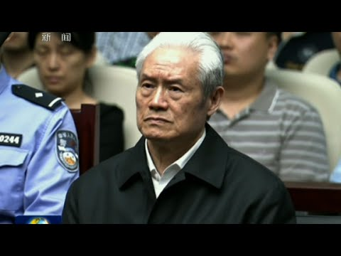 China's ex-security chief sentenced to life