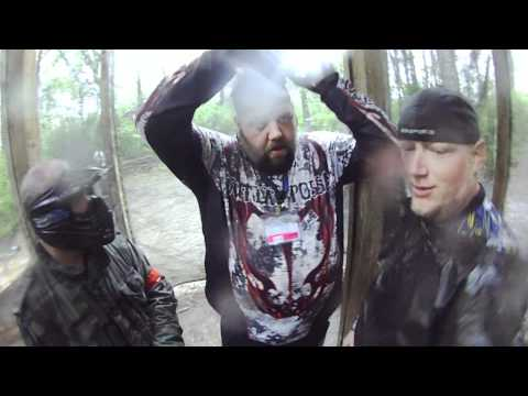 FPS Paintball Country Wars Amazing Scenario General Barrel Tagged! 6 Barrel Tags Headshots!