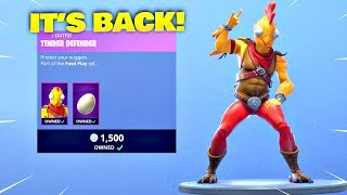 TENDER DEFENDER SKIN IS BACK! Fortnite ITEM SHOP [January 9, 2019] | Fortnite Battle Royale
