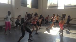 Destra - Dip and Ride. Elle NYTT Soca Dance Class with La Shaun Prescott
