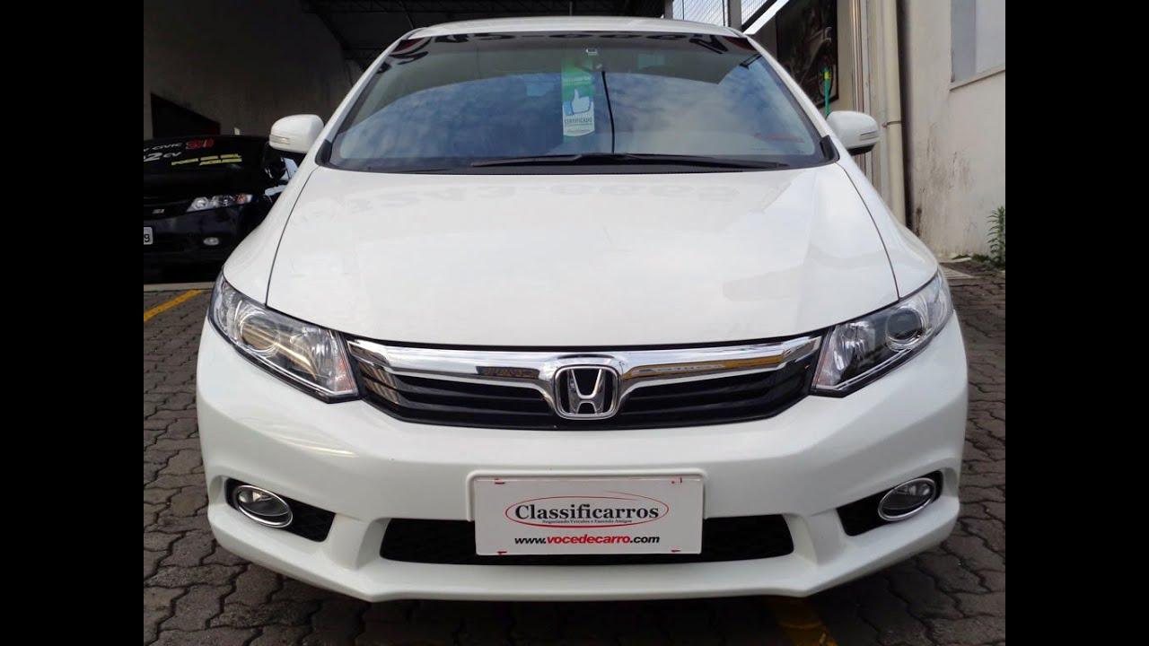 Honda Civic Lxr 2 0 16v Autom U00e1tico  Flex  2014