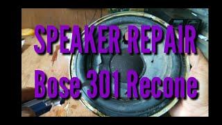 BOSE 301 SPEAKER RECONE