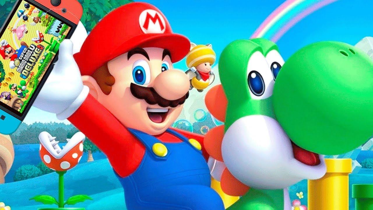 This is an image of Wild Mario Bros Picture