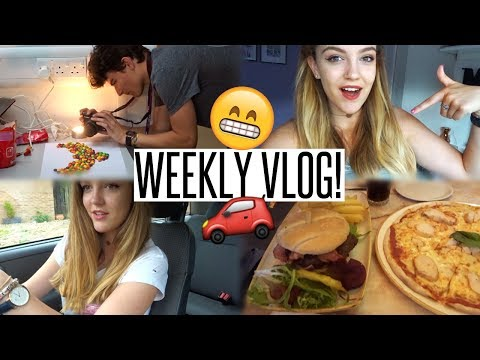 VLOG: Dying my Hair & Taking my Driving Test...