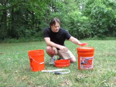 Camping Bucket Sink