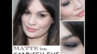 Matte Smokey Eye tutorial Thumbnail