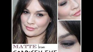 Matte Smokey Eye tutorial Thumbnail