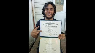 two college degrees no highschool diploma,  YOU CAN DO IT TOO MUST WATCH!!