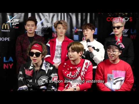 KCON15 Block B Backstage Interview