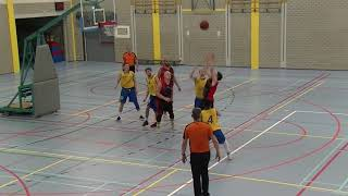 11 may 2019 Hurricanes MSE1 vs Rivertrotters MSE2 68-55 3rd period
