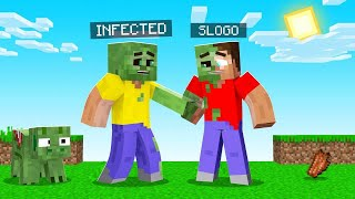 I INFECTED My Friends With A ZOMBIE Virus! (Minecraft)