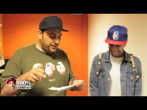 Tyga interview at Power 106 with DJ Vick One Part 2 (Rack City)