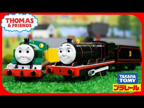 THOMAS AND FRIENDS TrackMaster/Plarail Original Thomas Black James|Thomas & Friends Toys Unboxing