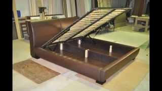 Двуспальная кровать(Производство двуспальных кроватей с подъемным механизмом по заказу покупателя. Есть большой короб для..., 2015-02-17T06:58:25.000Z)