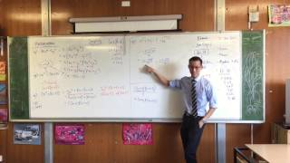Factorising Algebraic Expressions (3 of 3: The Quadratic Formula)