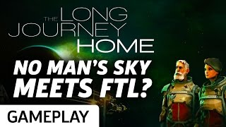 No Man's Sky Meets FTL? - The Long Journey Home Gameplay