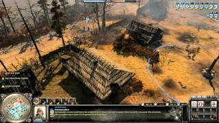 Company of Heroes 2 Gameplay: Halftrack Tactics | 2v2 on Moscow Outskirts