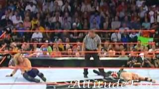 WWE UNFORGIVEN 2004 Chris Jericho vs Christian