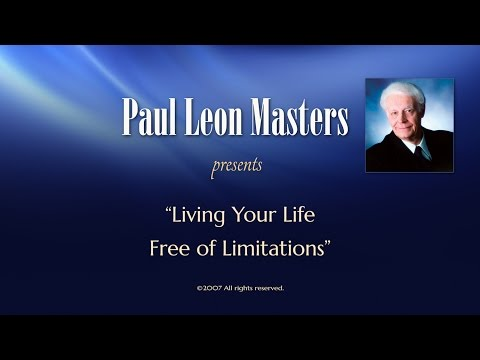 Living Your Life Free of Limitations