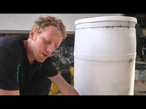 Spirulina Growing Chamber - Aquaponics Workshop