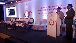 Project Starfish Nanhe Farishte : Upasana Speech at Global Investor Summit , Madhya Pradesh, India