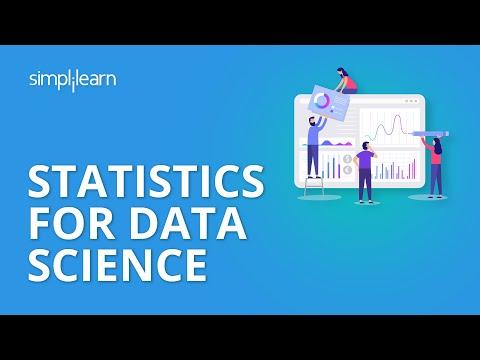 Statistics For Data Science | Data Science Tutorial | Simplilearn