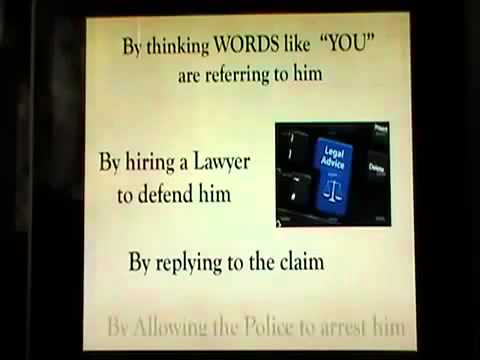 BILL TURNER   WE v YOU   DONT GET COURT  COMMON LAW