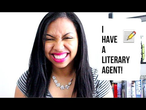 I HAVE A LITERARY AGENT!