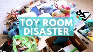 KIDS ROOM EXPLOSION | SPEED CLEANING ROUTINE | CLEAN WITH ME