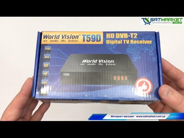Видео обзор World Vision T59D