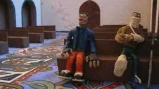 Укурок в храме(Видео про укуренного нарка (пластилиновый мульт), 2007-04-24T17:20:30.000Z)