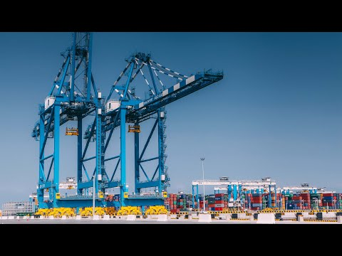 Khalifa Port, Abu Dhabi // Construction Documentary