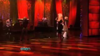 Repeat youtube video Nicki Minaj performs Moment 4 Life [Live on The Ellen Show] W/ Lyrics