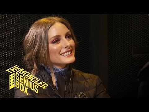 #MONCLERGENIUS | Olivia Palermo Speaks To Derek Blasberg In Milan