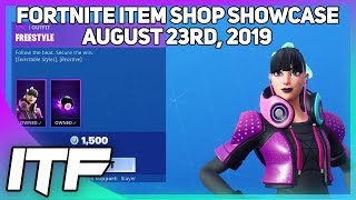 Fortnite Item Shop *NEW* FREESTYLE SKIN! [August 23rd, 2019] (Fortnite Battle Royale)