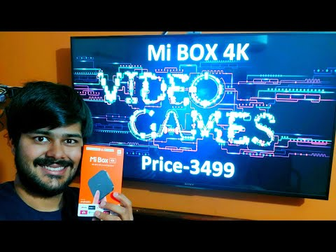 MI BOX 4K Gaming Review ,MI 4k Smart TV Box