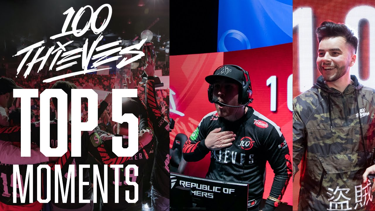 GREATEST Loser's Bracket Run of ALL TIME?! | Top 5 100 Thieves (@LA Thieves) CWL Moments