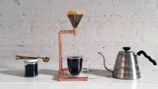 How To Make A Diy Coffee Maker Out Of Copper Pipe