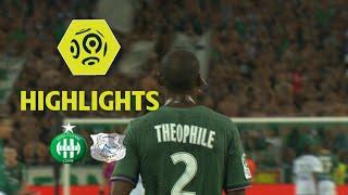 AS Saint-Etienne - Amiens SC (3-0) - Highlights - (ASSE - ASC) / 2017-18