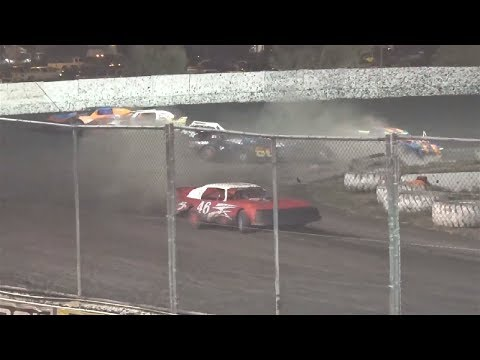 Bob McCoy Super Stock Open 40 Laps - RESULTS: 1 #22 Shane Devolder, 2 #46 Steve Studebaker, 3 #3 Matt While, 4 #12 Ryan Cherezian, 5 #4t Brent ... - dirt track racing video image