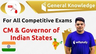 12:00 AM - GK By Sandeep Sir | CM & Governor Of Indian States
