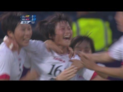 Colombia 0-2 DPR Korea - Women
