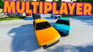 BEAMNG MULTIPLAYER....kinda - BeamNG Drive Multiplayer Gameplay